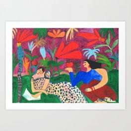 Picnic Life Art Print