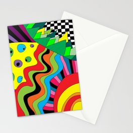 Crazy Circus  Stationery Cards