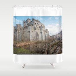 Gravensteen from Ghent Shower Curtain