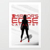 Mirror's Edge - Faith Art Print