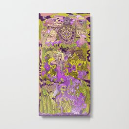 Garden Pansy Metal Print