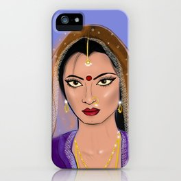Rekha iPhone Case