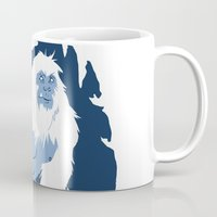yeti Mugs featuring Yeti by Rachel Young