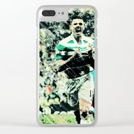 Rogic Roars Into Invincibles Clear iPhone Case