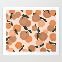 Fruity Art Print