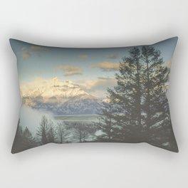 grand teton high country sunrise Rectangular Pillow