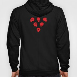 redhead - red on black Hoody
