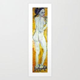 MEMOIRS OF A NUDE GEISHA Art Print