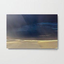 White Sands X Metal Print