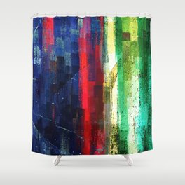 Compound Fracture Shower Curtain