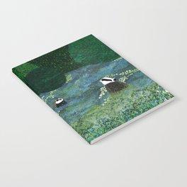 Badgers Amongst the Bluebells (evening) Notebook