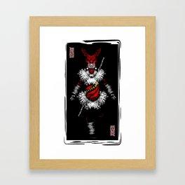 Jokers are wild Framed Art Print