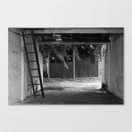 Vacant land Canvas Print