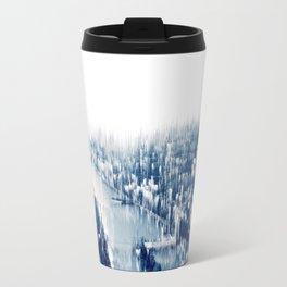 Distorted Paris Travel Mug