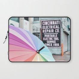 Umbrella Street Laptop Sleeve