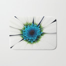 White petals Bath Mat