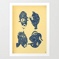 - miniatures - Art Print