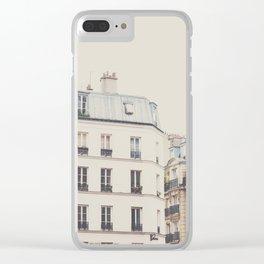 Paris architecture photograp Clear iPhone Case