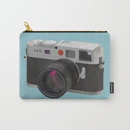 Leica M9 Camera polygon art Carry-All Pouch