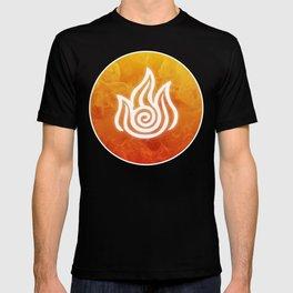 Avatar Fire Bending Element Symbol T-shirt