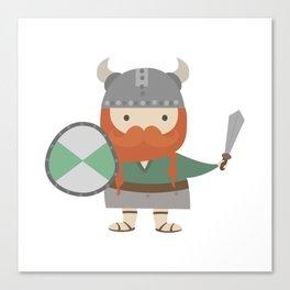 cute viking Canvas Print