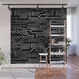 Circuit, tech electronics Wall Mural