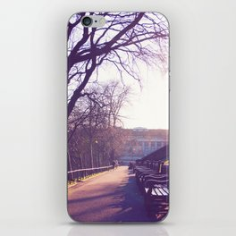 Edinburgh Princes Garden Sunset. iPhone Skin