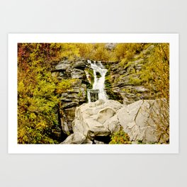 Boulder Fall Art Print