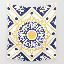 Azulejo Portugues 7 Wall Tapestry