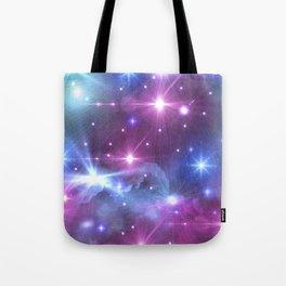Fantasy Space Glow Tote Bag