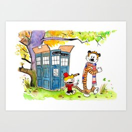 Adventures in Time, Space and Imagination Art Print