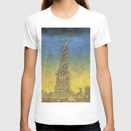 Lady Liberty #4 T-shirt