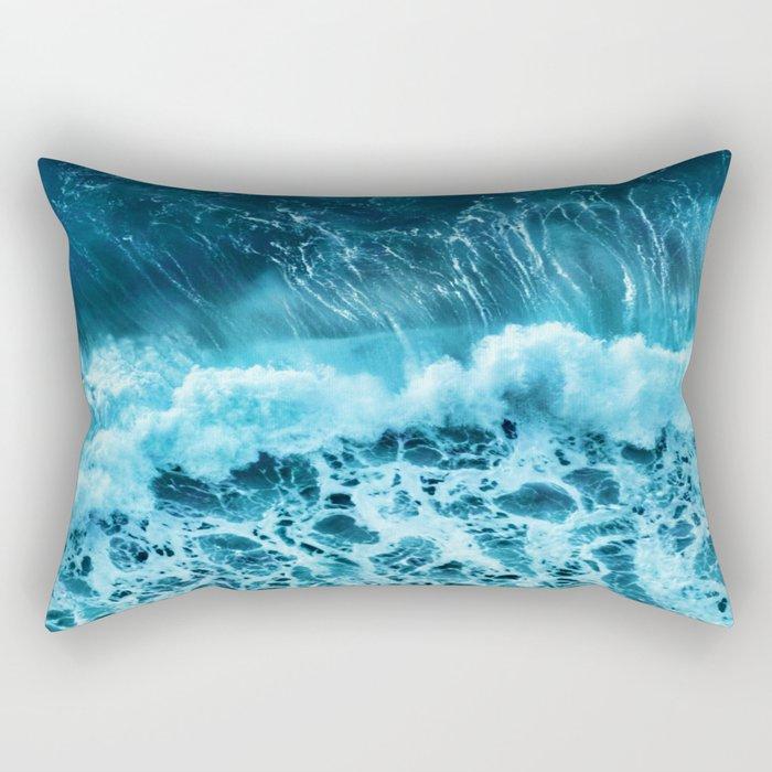 Sea wave Rectangular Pillow