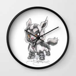 Almighty Pooch Wall Clock