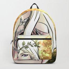 Tolkien Elves (Nyo!RussLiet) Backpack