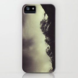 Shadow Mountain - Italian Alps iPhone Case