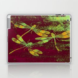 Mauritius Vintage Dragonflies QRF Laptop & iPad Skin