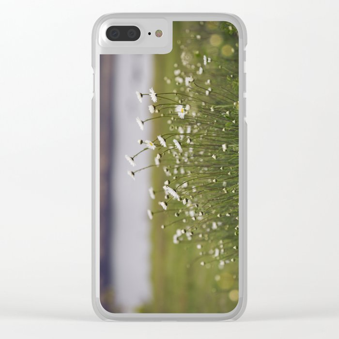 Wild Daisy's Clear iPhone Case