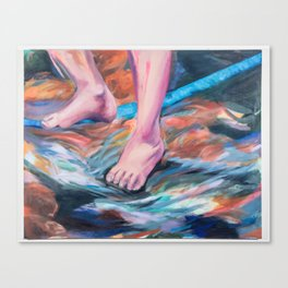 Slackline - Meditate Canvas Print