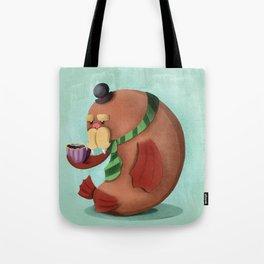 Wally the Walrus Tote Bag