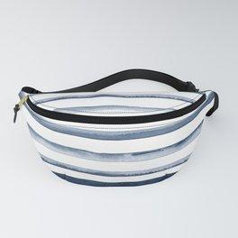 Watercolor Stripes Pattern Fanny Pack