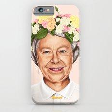 Hipstory - Queen Elizabeth iPhone 6s Slim Case