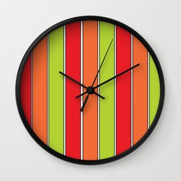 Stripe 3 Wall Clock
