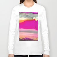 agate Long Sleeve T-shirts featuring Crazy Agate by Amie Amyotte