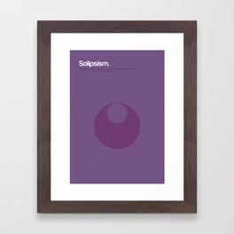 Solipsism Framed Art Print