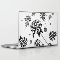 goth Laptop & iPad Skins featuring Goth Lollies by All Is One