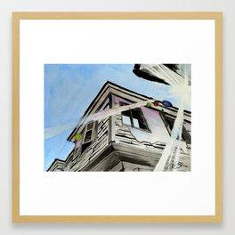 Island Decay Framed Art Print