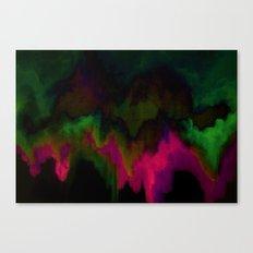 fuchsia drips Canvas Print