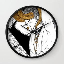 [Caelum Florescens] Aries Wall Clock