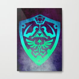 Zelda Shield Metal Print